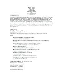 Performance Resume Template Inspiration Dance Performance Cv Template Resume For College Outline Samples