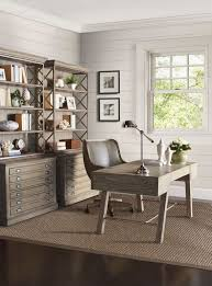 agreeable modern home office. Office:Agreeable Modern Home Office Ideas With Textured White Stone Wall And Fabric Window Agreeable