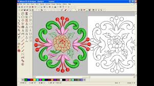 Computerized Embroidery Designs Free Download How To Make Computer Embroidery Design Embroidery Machine Design Pat 125