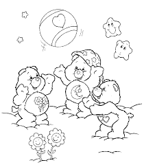 Small Picture care bears playinggif 685781 Colouring Pages for Children