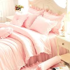ruffle twin bedding set frilly sets designs pink ruffl on queen size rose red leopard gilrs