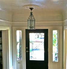 large contemporary foyer lighting