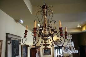candle chandelier non electric decorative