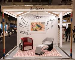 icff 2018 will present the no taste for bad taste exhibit of the best of french design including la chaise rug by francois azambourg for toulemonde