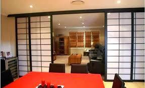 sliding doors modern gallery style wardrobe closet s japanese traditional door stock photo japan