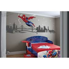 spiderman slinging web with cityscape spiderman slinging web with cityscape