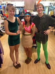 """American Apparel - Tinkerbell, Peter Pan and Tiger Lily Wade Wallerstein,  Jane Matchak & Ikka Llave """"Like"""" their photo to vote for your favorites!    Facebook"""
