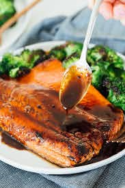 Asian Salmon Recipe with Soy Sauce