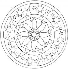 Art is fun shares her free printable mandalas to color. Easy Mandalas For Kids 100 Mandalas Zen Anti Stress