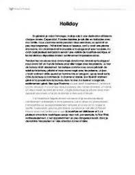 french essay ideal holiday  french essay ideal holiday
