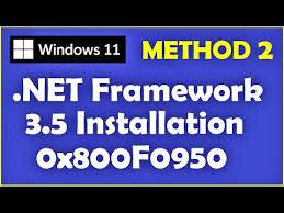 windows 10 microsoft net framework