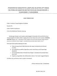 17 contoh surat tugas resmi terbaru dinas guru perorangan. Contoh Surat Balasan Dari Kelurahan Kumpulan Contoh Surat