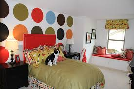 Polka Dot Bedroom Decor Colorful Bedrooms Room Design Ideas For Bedrooms Colorful Bedroom