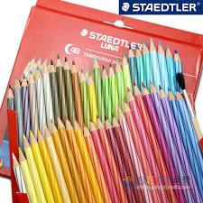 Staedtler Colored Pencils 48 Color Chart Buy German Staedtler Luna 137c24 36 48 Color Soluble Color