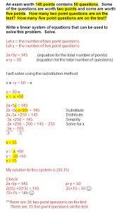 simple algebra 2 word problems linear equations homeshealth info