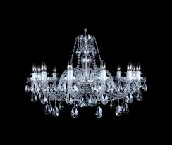 ceiling lights clear cut glass bohemian crystal chandelier cl105 12 1 tier