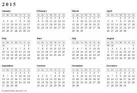 free year calendar 2015 printable 2015 calendar print yearly calendar 2015 zromtk download