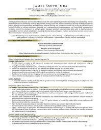 San Administration Sample Resume Best Sample Civilian And Federal Resumes Resume Valley