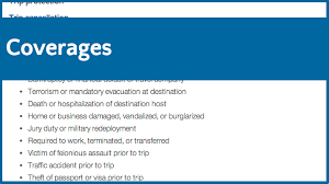 We also cover boarding fees should you be hospitalized for four or more days. Travel Insurance Coverage Guide Travel Insurance Review