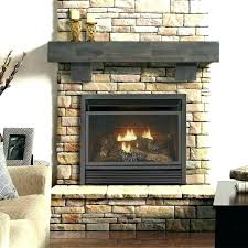 gas logs with blower fireplace home depot free ventless propane vent st