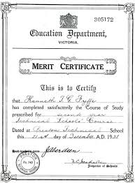 School Merit Certificates Rome Fontanacountryinn Com