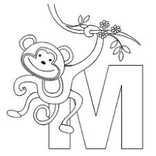 Top 25 Free Printable Monkey Coloring Pages For Kids