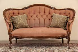 Furniture Antique Loveseat Antique Settee Bench