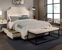Headboard To Bench Republicdesignhouse Audrey Upholstered Panel Headboard And Bench