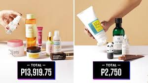 10 pinays share how much they spent on their p m skincare routines