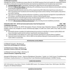 Manufacturing Resume Templates Interesting Resume For Sales With No Job Experience Engineering Manufacturing