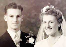 Don and Merle Fraser on their wedding day. | Nelson Weekly