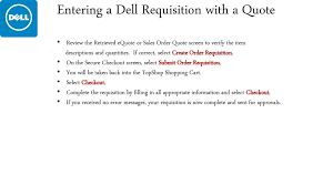 Dell Quote To Order Awesome Computer Ordering In TopShop Ppt Download