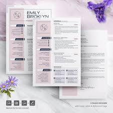Modern Resume Color Modern And Creative Resume Template Icons Color Areas