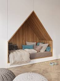 built into wall bed. This Modern Bedroom Design Has A Bed That\u0027s Been Built Into Wall Of Floor- L