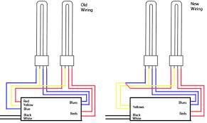 sl15t two 4 pin cfls wiring