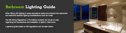 bathroom lighting rules. beamled bathroom lighting guide why choose led rules