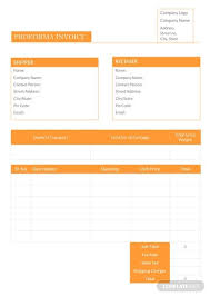 Free Proforma Invoice Template Pdf Word Excel Psd