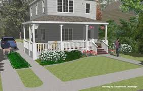 Porch Design Ideas Front Porch Remodel 3 D Rendering