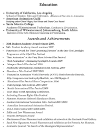 Education, Awards & Achievements. Resume accomplishments ...