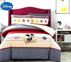 ikea twin duvet cover mickey mouse bedding set bed duvet covers cartoon applique embroidery cotton single