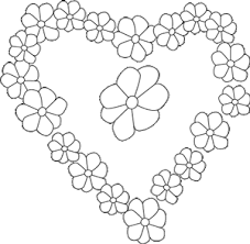 Heart Coloring Pages For Girls Color Bros