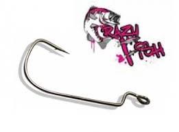 Офсетные <b>крючки Crazy Fish Offset</b> Joint Hook (№2 - 200шт) OJH ...