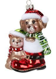 Christbaumschmuck Weihnachtskugeln Figuren Tiere
