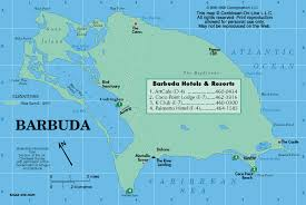 Maps Antigua amp; Caribbean-on-line Barbuda