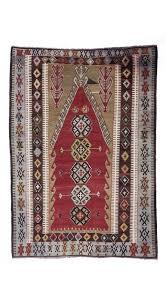 antique obruk kilim rug 4 5 x 6 3 feet