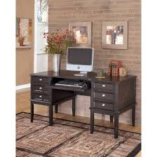 office desk armoire. Carlyle Home Office Desk In Almost Black H371 27 Ashley Throughout Furniture Armoire