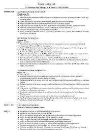 Help Desk Technician Resume Help Desk Technician Resume Samples Velvet Jobs