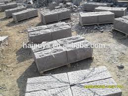 g354 red granite wall stone block