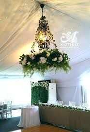 decoration tree branch chandelier fl green white hire how to make forest inspired shadow diy