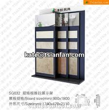 sg032 stone display stand ceramic tile display racks mosaic tile display shelves floor displays